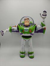 "🔥 Toy Story 12"" Buzz Lightyear talking Action figure DISNEY PIXAR"