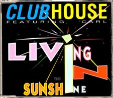 Club House - Living In The Sunshine - CDM - 1994 - Eurodance 6TR Carl Fanini