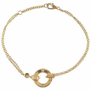 Cartier Yellow Gold Love Diamonds Bracelet