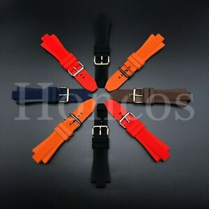 13X29mm Silicone Rubber Watch Strap Band Fits For Michael Kors US SELLER COLOR