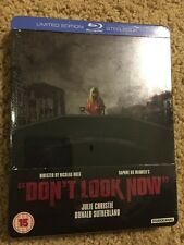 Don't Look Now (Limited Edition Blu-Ray Steelbook ~ UK Exclusive ~ Region B)