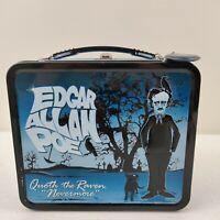 Edgar Allan Poe THE RAVEN Tin Lunch Box Lunchbox 2012