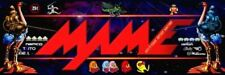 Mame Joust Arcade Marquee – 26″ x 8″