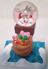 Looney Tunes Novelty Waterball Sno Globe Figurine Combination Bugs Bunny 1996
