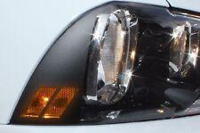Vinyl Decal Parking Light HASH MARK Wrap Kit for Dodge Charger 11-14 Matte Black