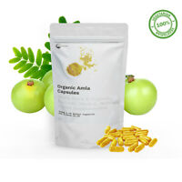 Organic Amla Powder | Indian Gooseberry, Natural Vitamin C, Hair | 900mg RDA