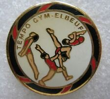 Pin's Sport TEMPO GYM Ville de ELBEUF #616