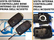 Chiave guscio cover PER TELECOMANDO SEAT SKODA VOLKSWAGEN WV GOLF PASSAT TOURAN