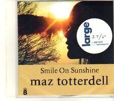 (DT80) Maz Totterdell, Smile On Sunshine - DJ CD