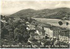 RIVERGARO - IL TORRENTE TREBBIA - SFONDO MONTE PILLERONE (PIACENZA) 1959
