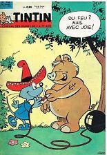 B13- Tintin N°746 Le Porte Avion Clémenceau