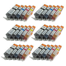 30 Ink Cartridge for PGI-525 Canon Pixma IX6550 MG5150 MG6150 MX895 MX885 MX715