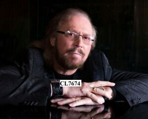 Barry Gibb of Bee Gees Poses for Portrait at the Capitol Studios in Los Angeles