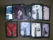 Boys' No Pattern 100% Cotton Long Sleeve Sleeve T-Shirts, Tops & Shirts (2-16 Years)