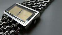 Omega De Ville Ladies Watch - Jeux d'Argent Sterling Silver .925 Bracelet & Case