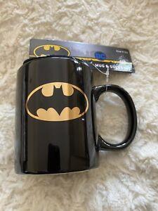 Batman Logo  Licensed Ceramic Mug and socks