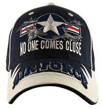 U.S.A.F. US AIR FORCE  No One Comes Close Emroidered Military Hat Baseball cap