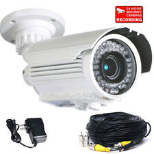"Built-in 1/3"" SONY Effio CCD Security Camera Outdoor Day Night Bullet IP66 A81"