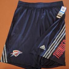 LZ Adidas Men's Large Oklahoma City Thunder NBA Mesh Basketball Shorts NEW M1