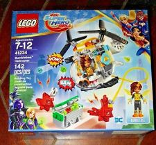 NIP Lego DC Super Hero Girls: 142pc BUMBLEBEE HELICOPTER Building Toy! #41234