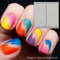 Creative French Stripe Edge Tip Guides Manicure Nail Art Toes Decoration