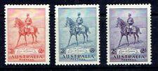AUSTRALIA - 1935 - KING GEORGE V -  JUBILEE ISSUE - SCOTT 152 TO 154 - MH