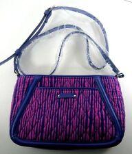 Vera Bradley Trimmed Trapeze Crossbody Bag Impressionista Stripe NWT Retail $78