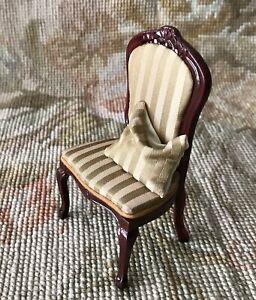 Pat Tyler/ Bespaq Dollhouse Miniature Side Chair Seat Chaise P1024
