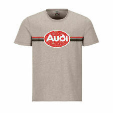 Original Audi Heritage T-Shirt, Herren, beige S,M,L,XL,XXL 3132000502-06