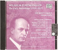 The Most Famous Overtures - Wilhelm Furtwängler (The Early Recordings 1929-1937)