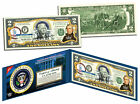 ZACHARY TAYLOR * 12th U.S. President * Colorized $2 Bill US Genuine Legal Tender