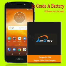 High Capacity 3770mAh Extended Slim Grade A+ Battery for Motorola Moto E5 Cruise