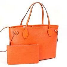 Louis Vuitton Piment Orange Color Epi Leather Neverfull PM Tote Hand Bag M40963