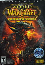 """Pc Video Game """" World Of Warcraft Cataclysm """" Expansion Set"""