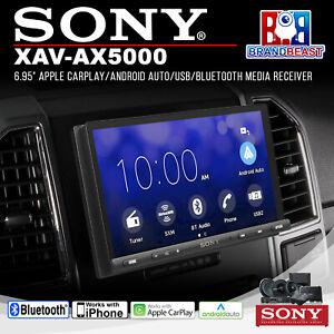"""Sony XAV-AX5000 6.95"""" Apple CarPlay/Android Auto/USB/Bluetooth Media Receiver"""