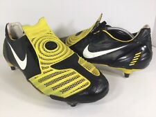 Nike Total 90 SG Laser II Yellow Black White Cleats Mens Size 13 Rare 355869-017