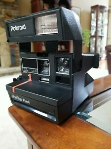 Polaroid 600 One Step Flash Instant Camera With Strap