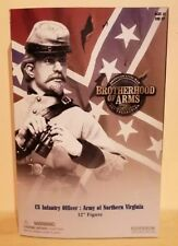 SIDESHOW Brotherhood Of Arms CIVIL WAR CS Infantry Officer Army of Northern VA