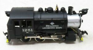 Mantua BRASS Reading 0-6-0 Tank Switcher (0286) NIB
