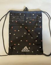Adidas Drawstring Bag Gray Gym Bag Fitness Cinch Bag