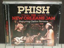 Phish - New Orleans Jam 2-CD SEALED '94 Broadcast feat. Carlos Santana