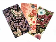 Asian Quilting Sewing Fabric - 40 Asian Print Rectangles (2 x 20 designs)