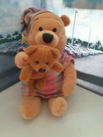 NIGHT WEAR POOH WINNIE THE POOH DISNEY STORE 8' PLUSH SOFT TOY COLLECTABLE RARE