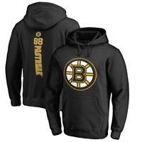 David Pastrnak Boston Bruins Fanatics Branded Backer Pullover Hoodie - Black