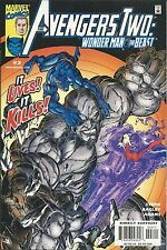 Avengers Comic Issue 3 Two Wonder Man And The Beast Modern Age First Print 2000