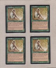 MTG - 4X Wall of Roots X4 - Mirage - Common NM/MT - Playset