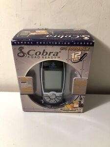 Cobra Road Ready GPS 1080DLX 12V Rand MCnally Streetfinder 32MB SD Card NIB