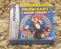 Brand New & Factory Sealed Mario Kart Super Circuit Player's Choice Nintendo GBA