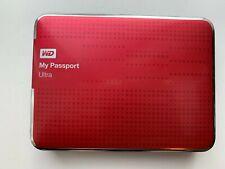 WD My Passport ULTRA 2TB USB 3.0 Model WDBMWV0020BRD External HDD - Red