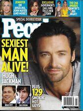 People Magazine Hugh Jackman Sexiest Men Alive Issue Jennifer Aniston Cma Awards